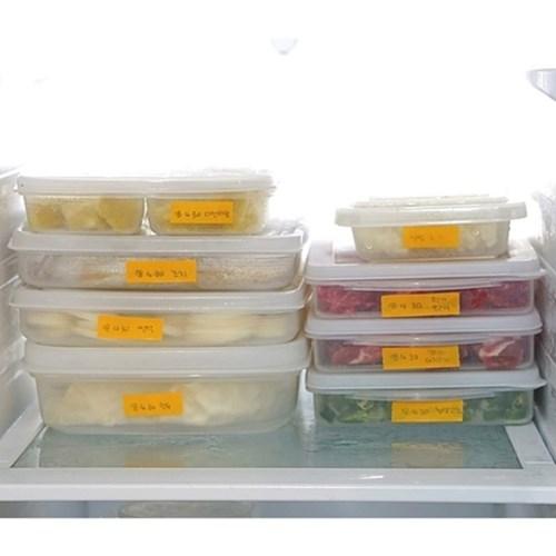 냉장고용기 냉동실 보관용기(3사이즈)