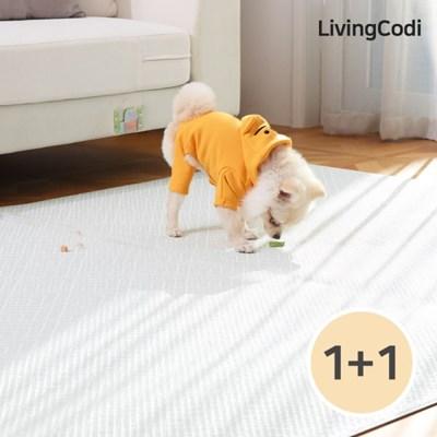 1+1 리빙코디 PVC 애견매트 강아지매트 /슬개골 탈구예방