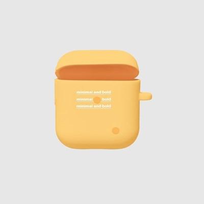 [스리살짝] minimal dot (3color) Airpods Case