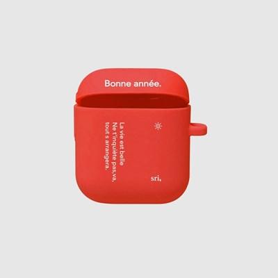 [스리살짝] new year (3color) Airpods Case
