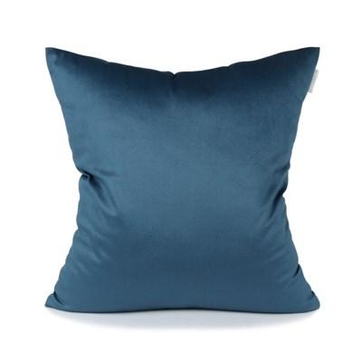 스웨이드 쿠션 블루