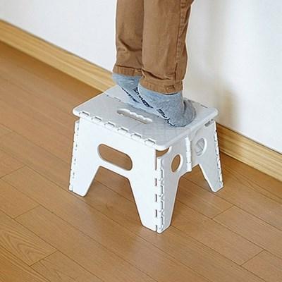 간편 접이식 의자 발판(2컬러)