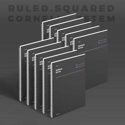 스프링북 - 다크호스 (룰드/스퀘어드/코넬시스템) 10EA