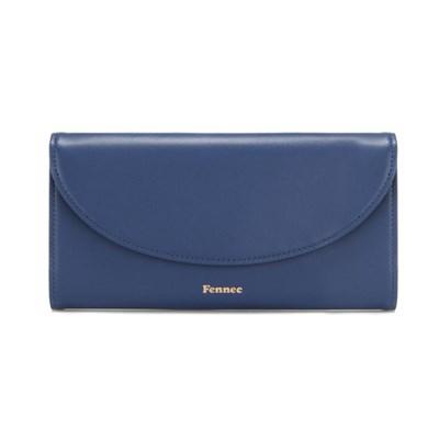 FENNEC HALFMOON LONG WALLET - DUSTY BLUE