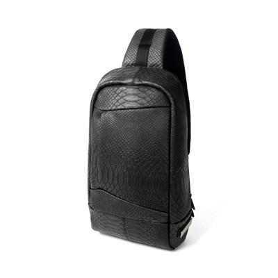 GORGEOUS SLING BAG / SNAKE BLACK
