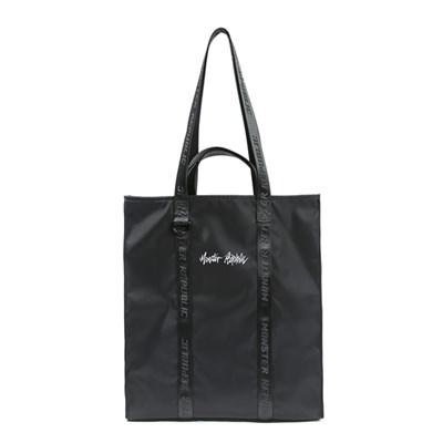 MOVEMENT LOGO TOTE BAG - SMALL / BLACK