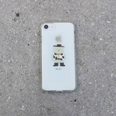 [젤리케이스] 카우베어 486 폰케이스 아이폰/LG