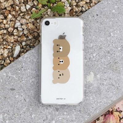[젤리케이스] 곰세마리 491 폰케이스 삼성갤럭시
