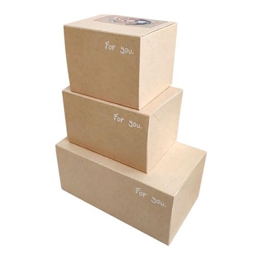 [소행섬] 포유 기프트 박스 (선물포장상자) 25매입