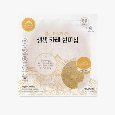 아이두비 1분도정 생생 현미 카레 누룽지 칩 (10개)