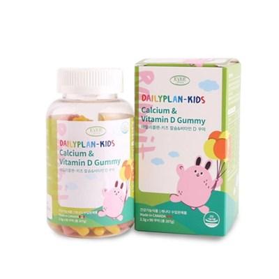 데일리플랜 어린이 칼슘 비타민D 젤리 꾸미 2300mg x 90_(1272561)