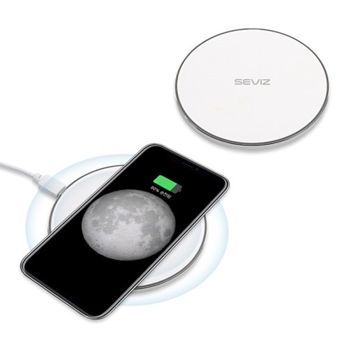 세비즈 초고속 스마트폰 아이폰 갤럭시 무선충전 원형패드 FC900