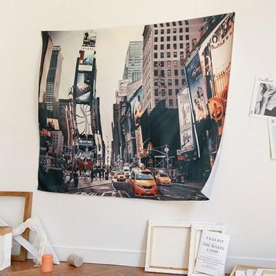 뉴욕 포토 빈티지 대형 패브릭포스터
