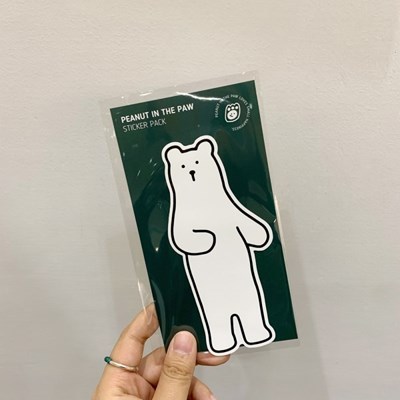 STICKER. POLAR BEAR