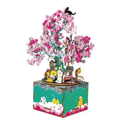 ROBOTIME 뮤직박스 벚꽃 Cherry blossom tree AM409_(1662983)