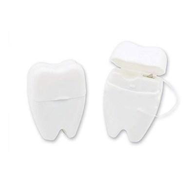 휴대용 치아모양 치실 15m