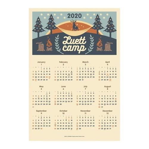 2020 벽걸이 포스터 달력