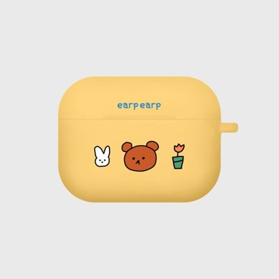 bear and rabbit-yellow(Air pods pro)_(1427563)