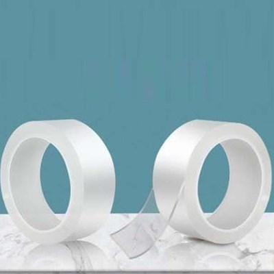 흔적없는 실리콘 젤리 초강력 양면 테이프 두께 5센치 길이3미터
