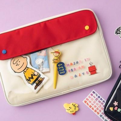 [Peanuts] 포켓 노트북 파우치 15인치