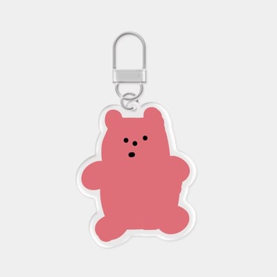 gummy 핑크 아크릴키링