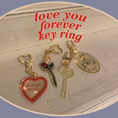 [뮤즈무드] love you forever key ring (키링)