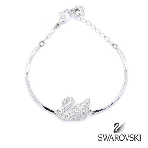 SWAROVSKI 스와로브스키 정품 5011990 SWAN BANGLE 팔찌 브레이슬릿
