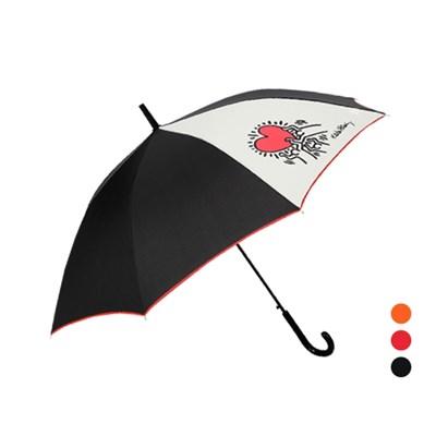 키스해링 하트 장우산