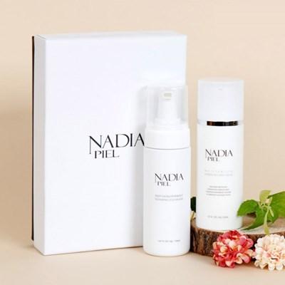 나디아피엘 2종세트/미백,주름 수분크림+포밍 딥 클렌저