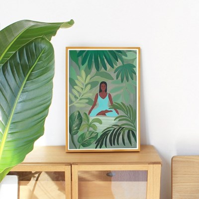 토도비엔 포스터_요가 명상 식물 포스터 5종
