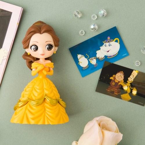 디즈니 미녀와야수 피규어 컬러링북