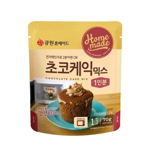 큐원 초코케익믹스 70g (전자레인지용)