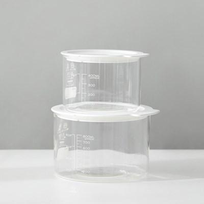 [하리오] VFC-400-W 비네거 푸드컨테이너 (400ml) 화이트
