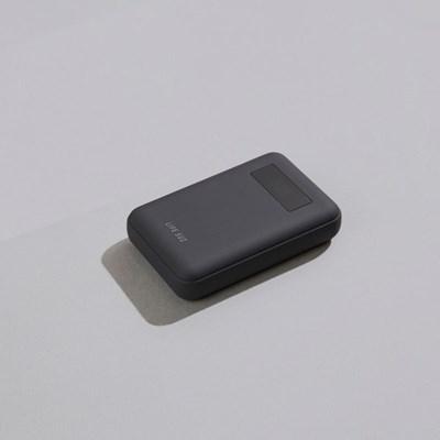 라이프썸 고속 충전 보조배터리 10000 (LFS-HA14) 다크그레이