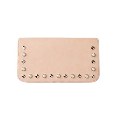Pearl Stud Flap[진주찡] _ Pink