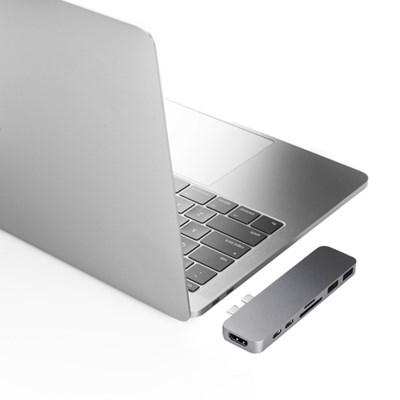 [해외직구] 하이퍼드라이브 맥북프로전용 7in2 듀오 USB-C 허브