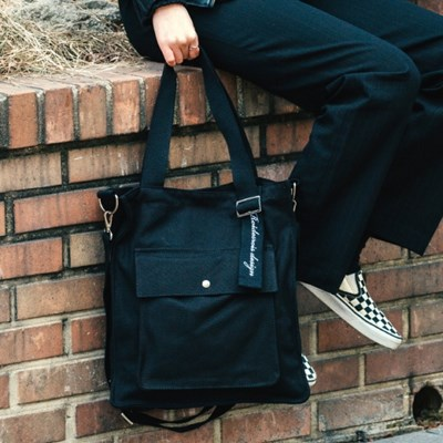 NEW AH CHOO SHOULDER BAG (BLACK)_(1238126)