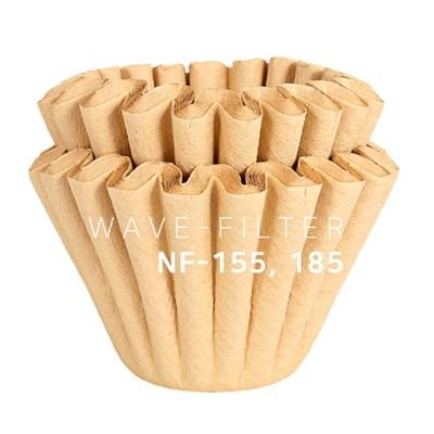 [칼딘] 웨이브형 핸드드립 커피 필터 커피여과지 NF155,NF185 50매