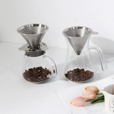 노블 내열유리 커피 드립세트