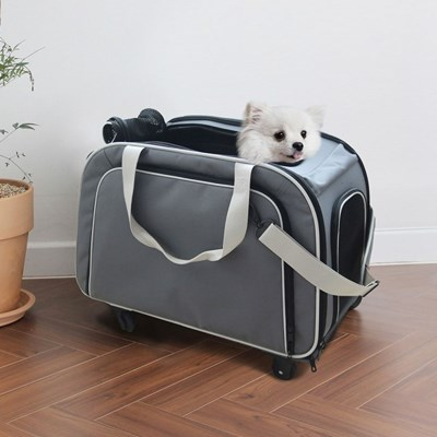 아이리스 강아지/고양이 캐리어 가방 확장형 DLC10017