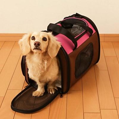 아이리스 강아지 고양이 이동가방 POTC-500A 핑크