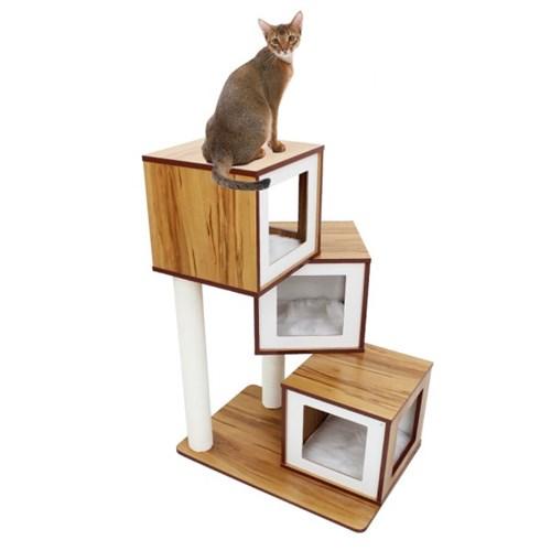 아이리스 3단 캣타워 스크레쳐 고양이 하우스 QQ81033