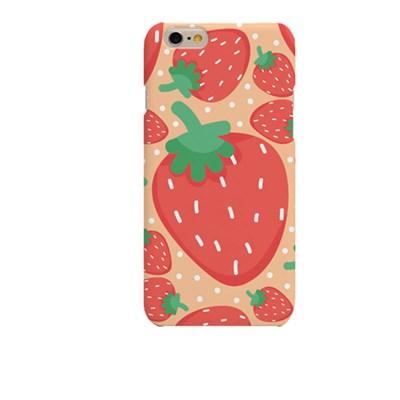 Big Strawberry Illust (HE-146B) Hard Case