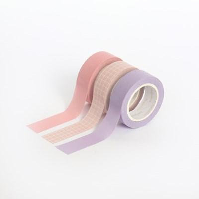 아르떼 마스킹테이프 플랜 3P SET - Candy shop