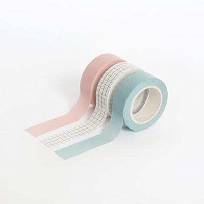 아르떼 마스킹테이프 플랜 3P SET - Cotton candy