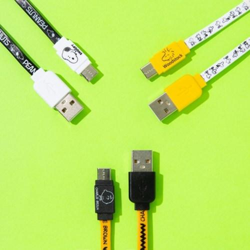 스누피 라이트닝 USB-Cable for Type C (동기화 충전 가능)