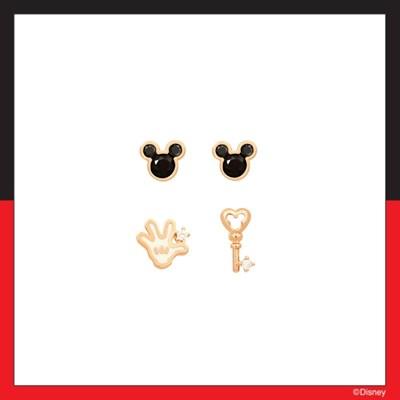 [미키마우스] 미키마우스 모티브 패키지 귀걸이 OTE420114QPX
