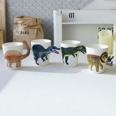 공룡 3D 머그컵