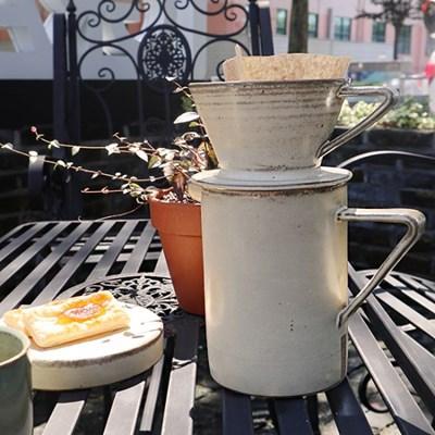 국내 핸드메이드 도자기 커피드리퍼
