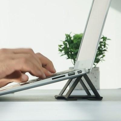 링케 폴딩2 스탠드 노트북 아이패드 태블릿 거치대/마우스패드